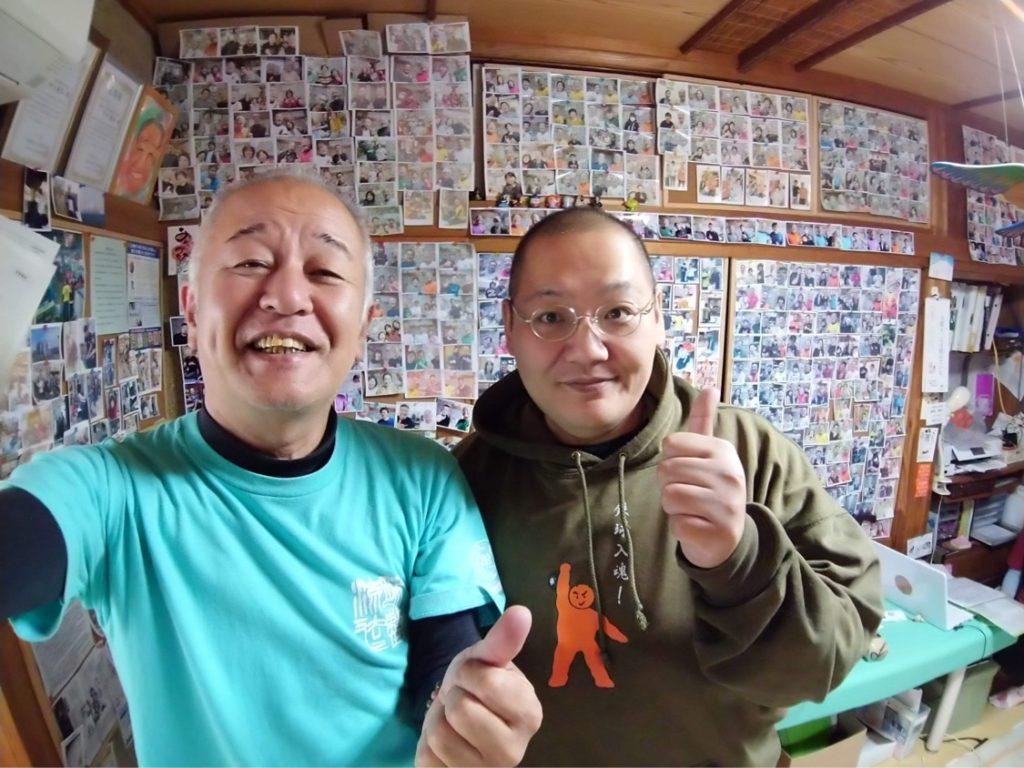 腱引きの押川先生と折田